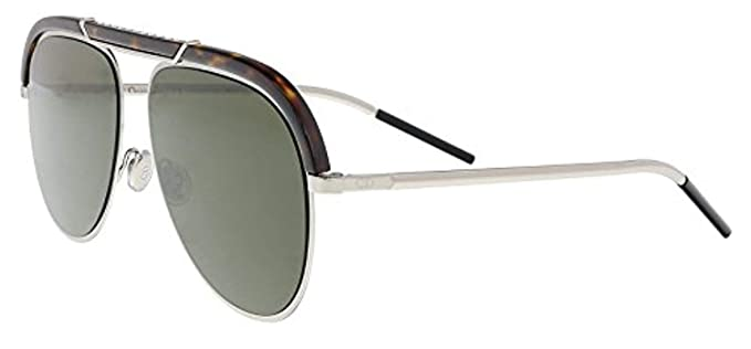2425703b60 Image Unavailable. Image not available for. Color  Christian Dior  DIORDESERTIC 09G0 Havana Palladium Aviator Sunglasses for