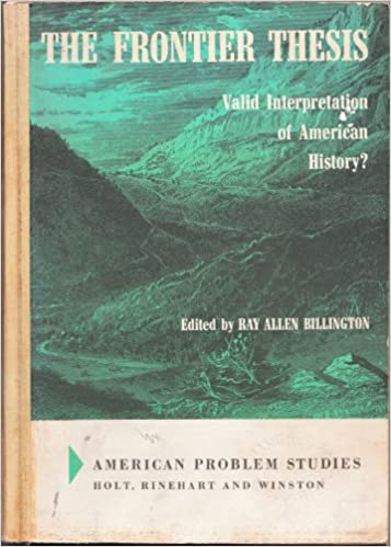 The frontier thesis valid interpretation of american history how to write brahman in sanskrit