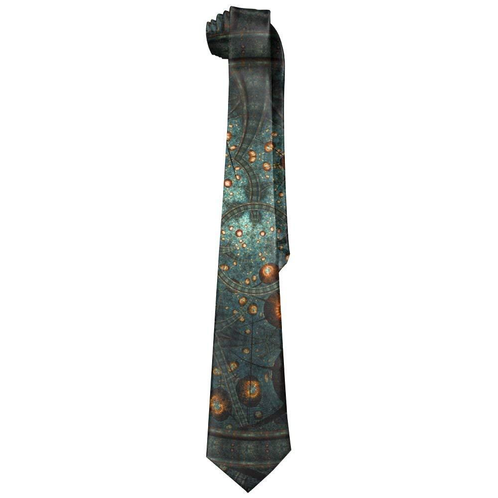 Jxrodekz Constellation Corbatas de seda clásicas para hombre ...
