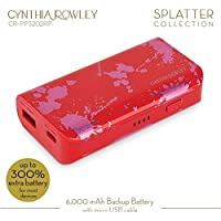 Cynthia Rowley Portable External Battery Pack for Universal/SmartPhones - Red