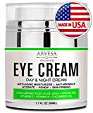 Best Eye Cream For Dark Circles and Puffiness - with Hyaluronic Acid - Vitamin C + E - Anti Aging Complex to Reduce Eye...