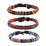 HZMAN Mix 6 Wrap Bracelets Men Women, Hemp Review and Comparison