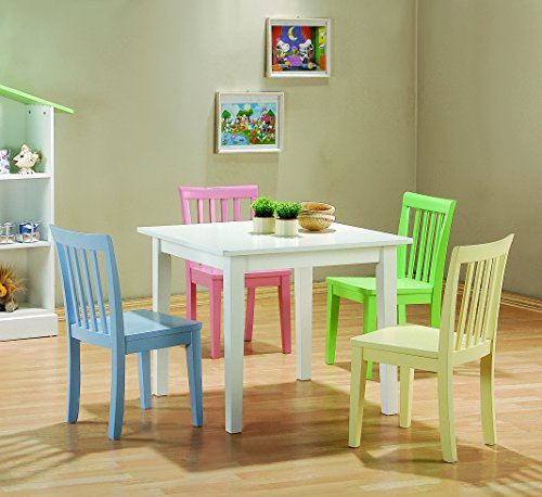 Coaster Home Furnishings 460235 CO-460235 Rory 5-Piece Dining Set, - Furniture Coaster Kids