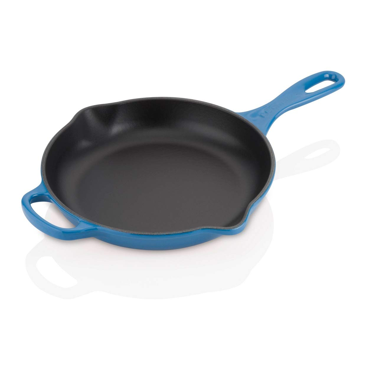 Le Creuset Signature Iron Handle Skillet, 9-Inch, Marseille