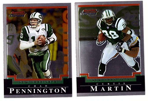 2004 Bowman Chrome Football Team Set - NEW YORK JETS