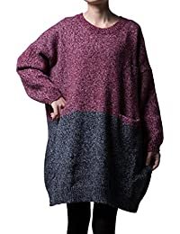 Women's Oversized Pullover Knit Sweater Top