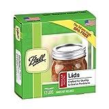 Ball Regular Mouth Size Canning or Mason Jar Lids, 4 dozen or 48 lids total