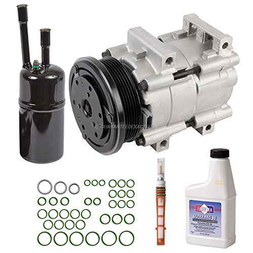 New AC Compressor & Clutch With Complete A/C Repair Kit For Ford Escort ZX2 - BuyAutoParts 60-81447RK New