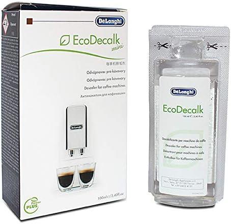De'Longhi 5513295981 EcoDecalk Mini Coffee Machine Eco Descaler 100ml