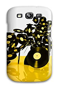 (jEwdbCj2634UbECM)durable Protection Case Cover For Galaxy S3(music Art )
