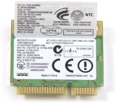 Amazon.com: Atheros AR5B93 Half Height MINI PCI-E Wireless WiFi Card  300Mpbs 802.11b/g/n: Computers & Accessories
