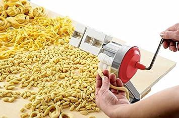 Máquina de Pasta Original Italiano Big Mama para cava telli & gnocchetti & espaguetis & Tallarines