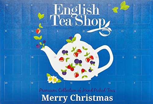 Weihnachtskalender Tee.English Tea Shop Tee Adventskalender Tea Time 24 Türchen