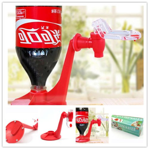 Party Fizz Soda Saver Dispenser Bottle Drinking Water Dispense Machine Gadget