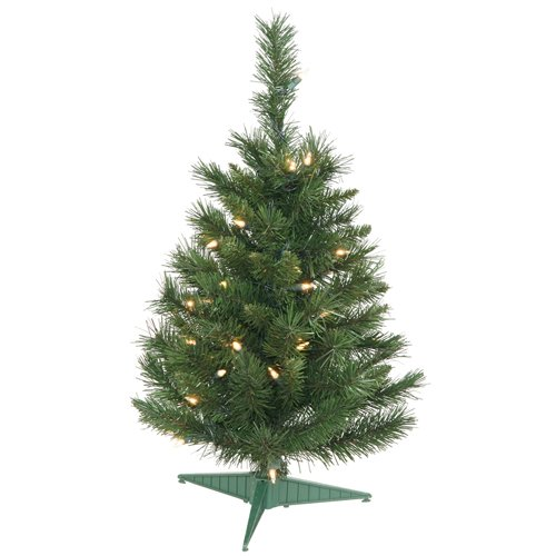 Vickerman-Pre-lit-Imperial-Pine-Tree-with-35-Clear-Dura-Lit-Lights