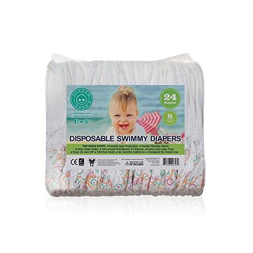 (Little Toes Disposable Swim Diapers (Small, 24 Count))