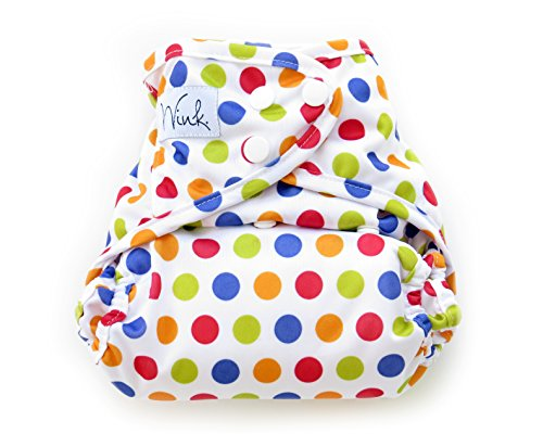 Wink Organic Bamboo All In One Cloth Diaper (Twister)