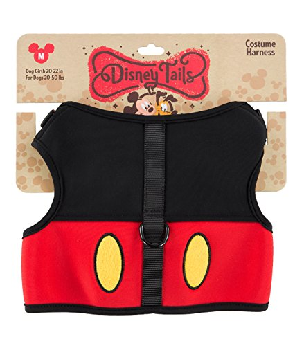 Disney Parks Mickey Mouse Costume Dog Harness Medium