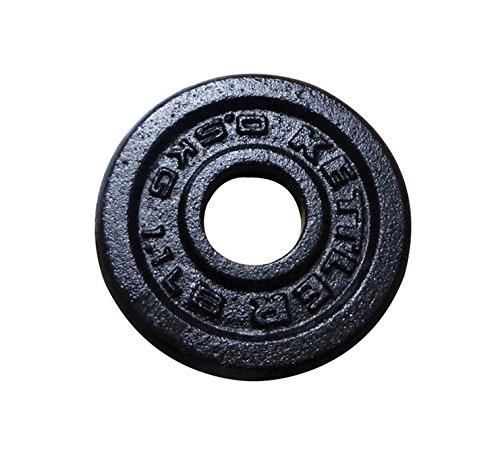 Kettler Cast-Iron - Pesos, Color Negro, Talla 0.5 kg PBK07371700