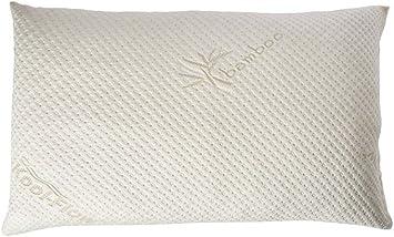Travel Bamboo Covered Shredded Memory Foam Pillow,Made In USA,Toddler//Children