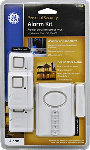Ge Personal Security Alarm Kit Includes Deluxe Door Alarm