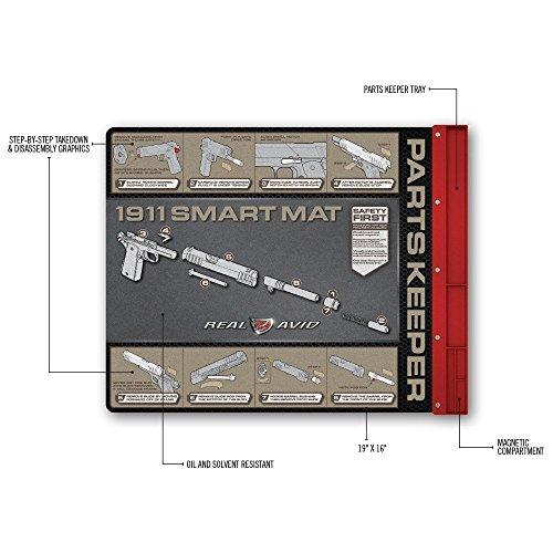 Real Avid Handgun Smart Mat 19 215 16 Universal Pistol