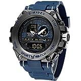 Men's Sports Watch Men's Digital Watch Wrist Watch Electronic Quartz Movement Military Watch LED Backlight Watches for Men