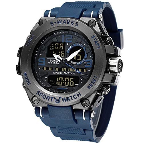 Men¡¯s Sports Watch Men's Digital Watch Wrist Watch Electronic Quartz Movement Military Watch LED Backlight Watches for Men