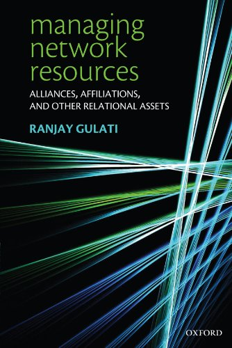 Managing Network Resources  Alliances  Affiliations  And Other Relational Assets