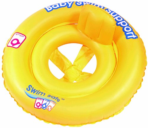 Swim Safe Double-Ring Baby Seat Inflatable Pool Float