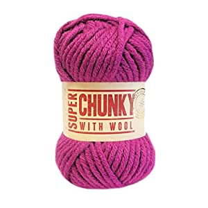 Hayfield Super Chunky With Wool 63 - Hibiscus (Wool) by Unknown