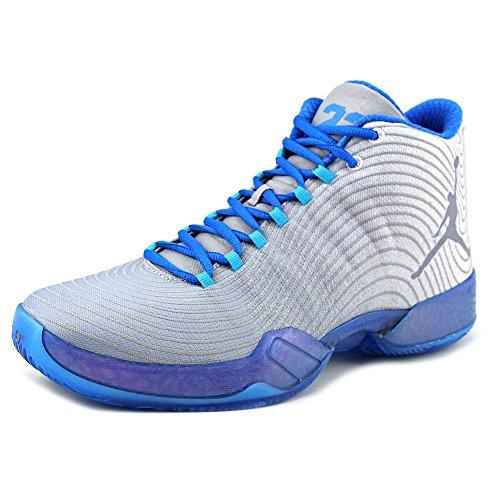 Nike Jordan Men's Air Jordan XX9 Playoff Pack White/Cool Blue/Pht Bl/Trqs Bl Basketball Shoe 14 Men US