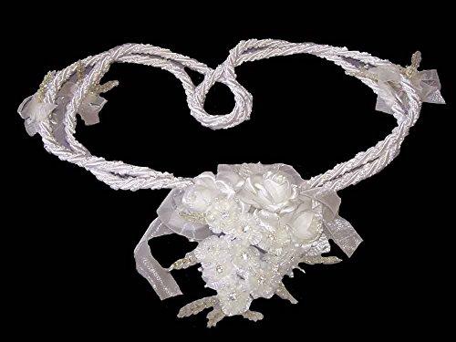 Bridal Lassos Wedding Lassos Lazos De Boda Hand Made In USA -White Color (Lasso1-W - Co Tiffany Usa Www