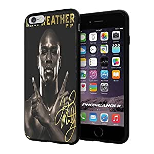 Floyd Mayweather the Champion, Boxing, Boxer,Cool iphone 6 4.7 Smartphone Case Cover Collector iphone TPU Rubber Case Black