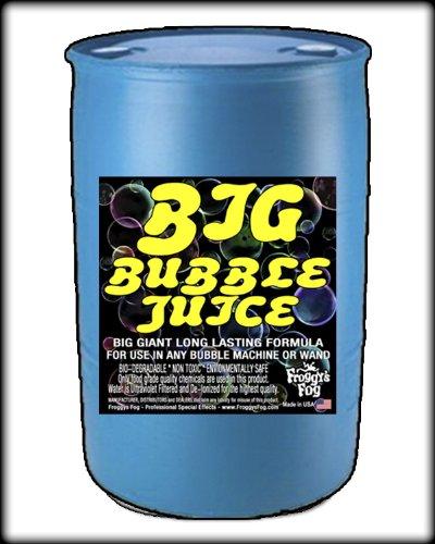 55 Gal - BIG Bubble Juice - Enormous Long-Lasting Bubble Fluid by Froggys Fog