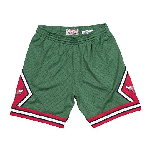 Mitchell & Ness Chicago Bulls NBA Men's 2008-09 Green Week Swingman Shorts (Small) -