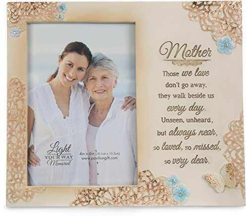 Light Your Way Memorial – Mother Memorial 4×6 Inch Picture Frame