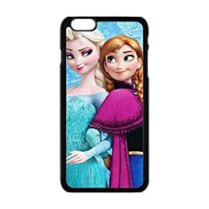 Happy Frozen lovely sister fashion Cell Phone Case for Iphone 6 Plus
