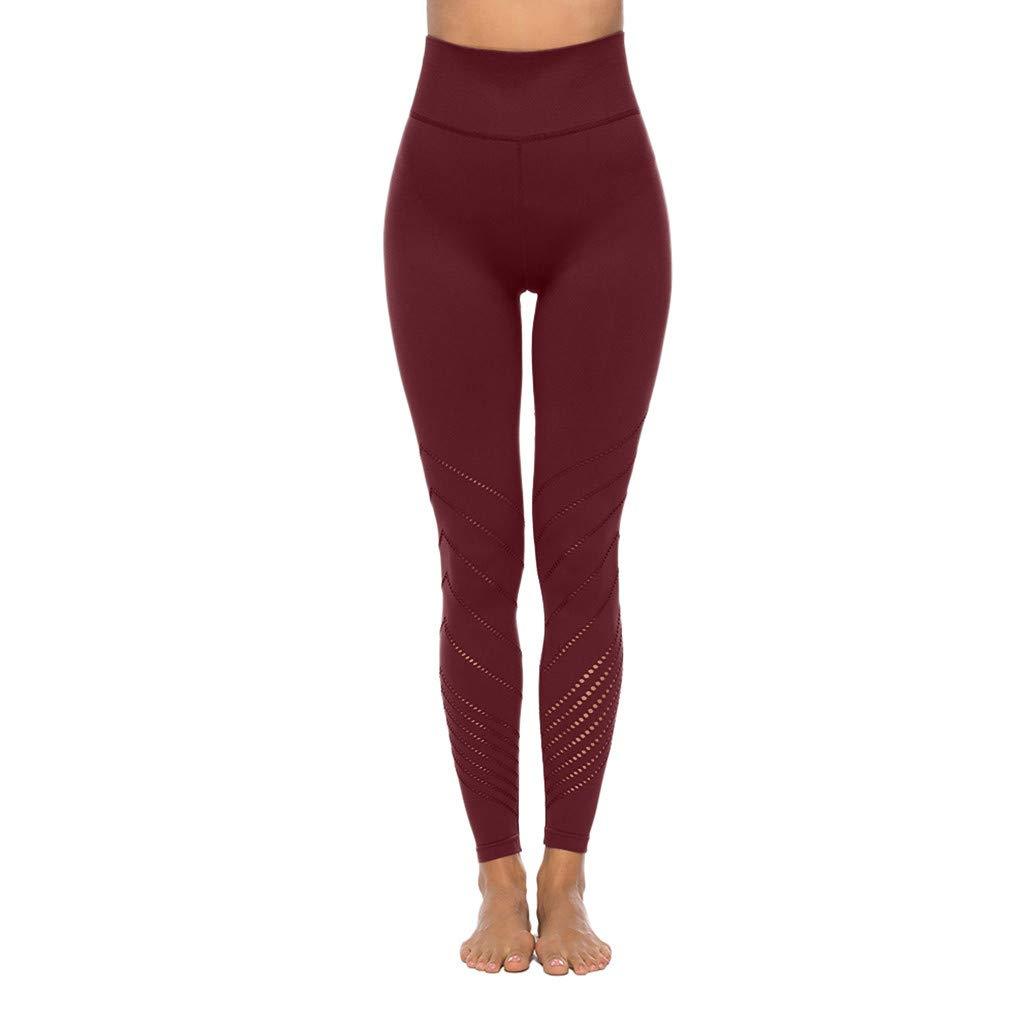 Cintura Alta de Yoga Pantalones, YpingLonk Mujer Yoga ...