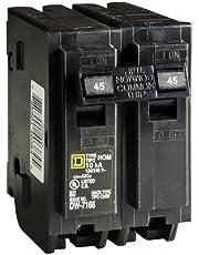 Square D by Schneider Electric HOM245CP Circuit Breaker, Black
