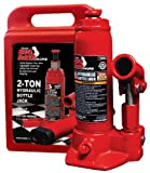 Torin Big Red T90213 Hydraulic Bottle Jack with Blow Carrying Case, 2 Ton Capacity