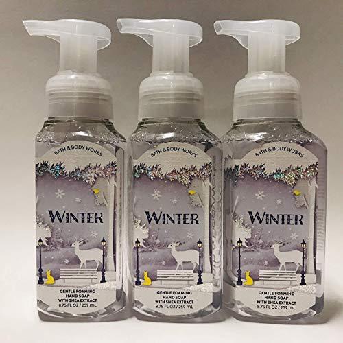 Set of 3 Bath & Body Works Winter 2018 Gentle Foaming Hand Soap 8.75 fl.oz