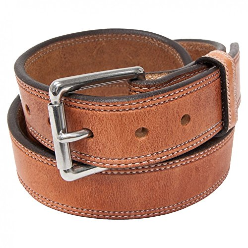 Hanks A2950 Old World Stitched Belt - 1.5