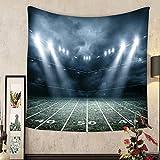 Keshia Dwete Custom tapestry american soccer stadium d rendering