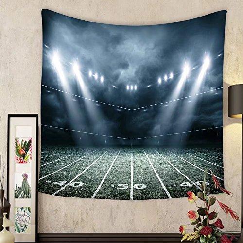 Keshia Dwete Custom tapestry american soccer stadium d rendering by Keshia Dwete