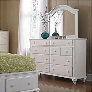 broyhill hayden place dresser and arched mirror in white kitchen dining. Black Bedroom Furniture Sets. Home Design Ideas