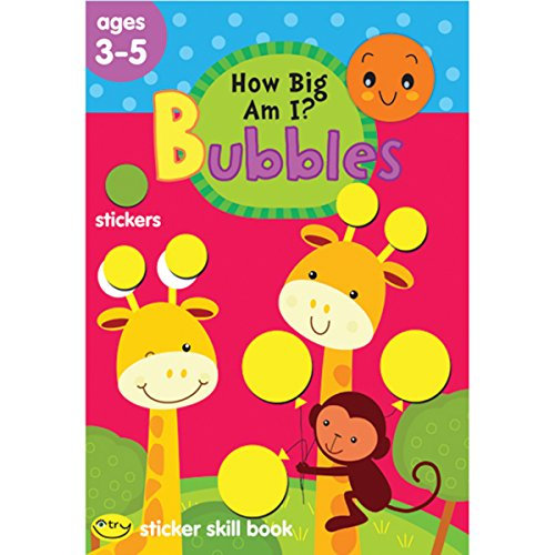 School Zone Bubbles Sticker Skill Book, How Big am I?