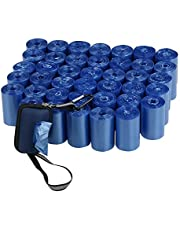 Nesmilers 40 Rolls Dogs Waste Bags with Dispenser, Dog Poop Bags, Blue, 1400 Bags