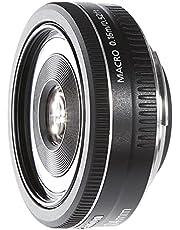 Canon EF-S 24 mm Lens, F2.8 STM Pancake, voor EOS (vaste brandpuntsafstand, 52 mm filterdraad), zwart