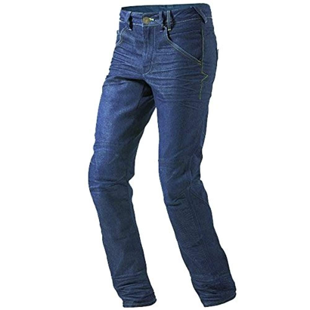 Blue W 34 L 32 JET Motorcycle Jeans Kevlar Safety Trousers Aramid Lined Jeans Armoured